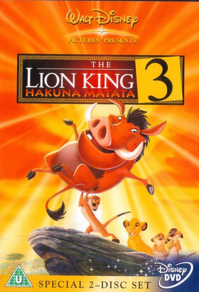 lion king 3 movie. Lion King 3 Dvd